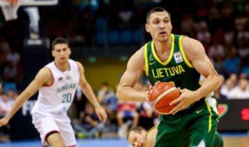 Λιθουανία: Με Ματσιούλις στα προκριματικά του Ευρωμπάσκετ (ΦΩΤΟ)
