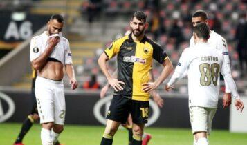 Κακή βραδιά της ΑΕΚ στην Μπράγκα (3-0), κάθε λάθος το πλήρωσε