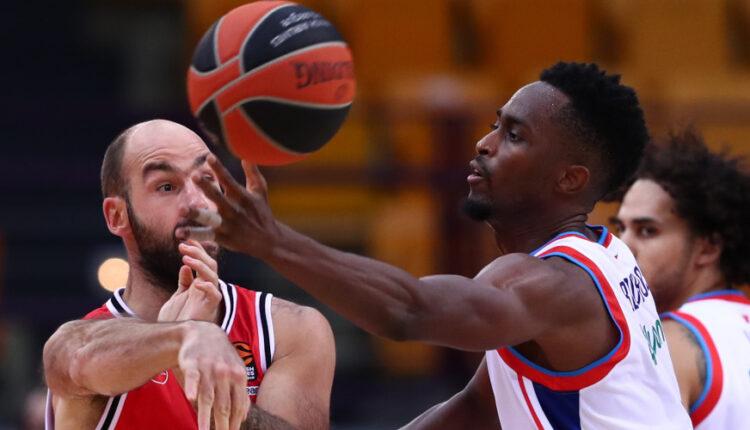 Euroleague: Δεύτερη ήττα στο ΣΕΦ ο Ολυμπιακός