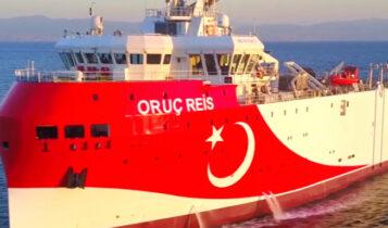 Συναγερμός για το Oruc Reis: Πλέει εντός της περιοχής της παράνομης Navtex -Αντίδραση από Βερολίνο-Παρίσι