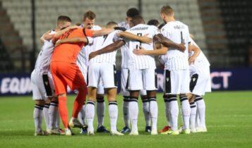 ΠΑΟΚ: Με Αϊντχόφεν, Γρανάδα και Ομόνοια στο Europa League