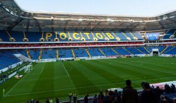 Απολύθηκε ο διευθυντής του «Rostov Arena» γιατί επέτρεψε φωτογράφιση μοντέλων με εσώρουχα στο γήπεδο (ΦΩΤΟ)