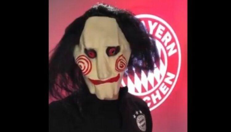 Μπάγερν: Ο Νόιερ με μάσκα Saw για το Halloween (VIDEO)
