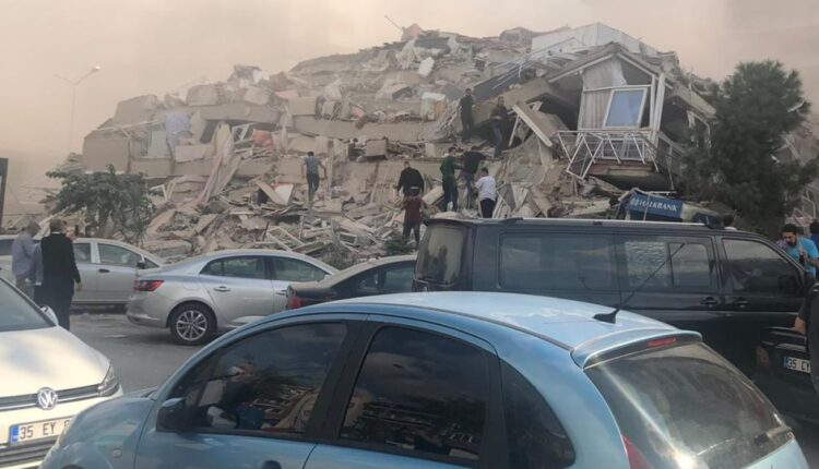 Σεισμός στη Σάμο: Μεγάλες καταστροφές στη Σμύρνη! (VIDEO)