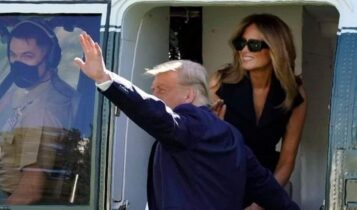 «Είναι αυτή η Μελάνια;»: Η νέα φωτογραφία που... ξαναφούντωσε τις φήμες για σωσία της Πρώτης Κυρίας των ΗΠΑ
