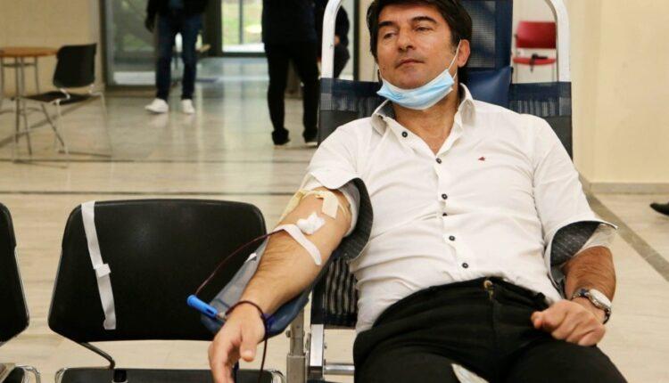 Η ΑΕΚ στηρίζει την εθελοντική αιμοδοσία του Δήμου Νέας Φιλαδέλφειας