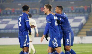 Europa League: Η Λέστερ κέρδισε (4-0) την Μπράγκα και πήρε κεφάλι στον όμιλο