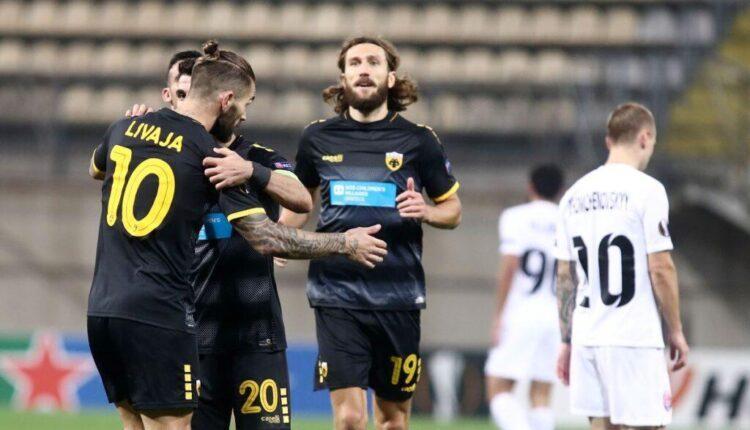 Ποιο ήταν το στοιχείο που ξεχωρίσατε στη θριαμβευτική νίκη της ΑΕΚ στην Ουκρανία;