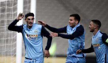 Super League: Διπλό με Χριστοδουλόπουλο ο Ατρόμητος, 1-0 τον Παναθηναϊκό