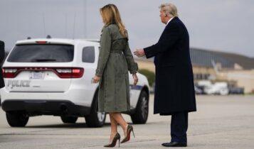 Μελάνια Τραμπ: Μετράει ημέρες για το διαζύγιο από τον Τραμπ;