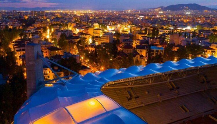Μελισσανίδης: Στην «Αγιά Σοφιά» για να τσεκάρει τις δοκιμές φωτισμού στο Ναό! (VIDEO)
