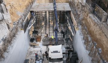«Αγιά Σοφιά»-Υπογειοποίηση: Συγκίνηση-Επεσε η πρώτη πλάκα για το τούνελ! (VIDEO)