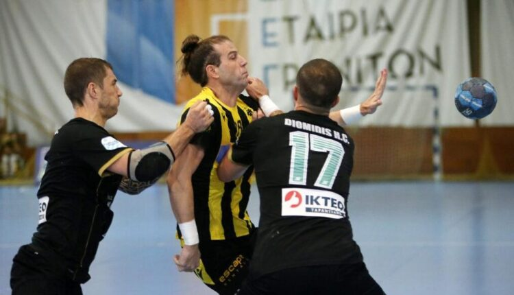 Handball Premier: Παραιτήθηκε από την Ευρώπη ο Διομήδης!