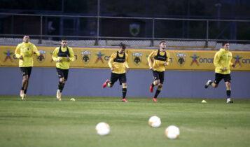 ΑΕΚ: Προπόνηση για 16 παίκτες, μόνο τρέξιμο με... αποστάσεις!