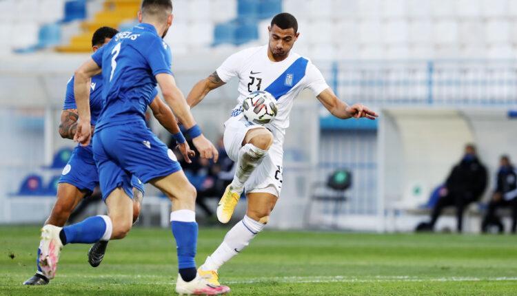 Εθνική Ελλάδας: Ανετη νίκη με γκολ Γιαμουμάκη, 2-1 την Κύπρο