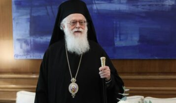 Κορωνοϊός: Σε ΜΕΘ νοσηλεύεται ο Αρχιεπίσκοπος Αλβανίας Αναστάσιος