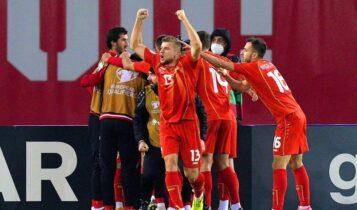 Ο Πάντεφ έστειλε τη Βόρεια Μακεδονία στο Euro, 1-0 την Γεωργία