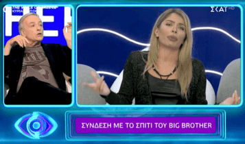 Την δίκασε live: Ο άγριος καυγάς του Μικρούτσικου με τη Δανέζη που εκτόξευσε την τηλεθέαση του Big Brother (VIDEO)