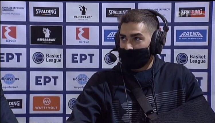 Τολιόπουλος: «Ηταν ένα σοκ ο τραυματισμός μου»