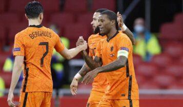 Nations League: Η Ολλανδία νίκησε 3-1 την Βοσνία του Μπάγεβιτς