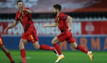 Nations League: «Απέκλεισε» την Αγγλία το Βέλγιο -Νίκες για Ιταλία και Δανία