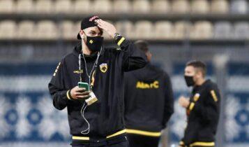 Χνιντ: Επέστρεψε στις προπονήσεις της ΑΕΚ και ποζάρει με τον Σιμάνσκι (ΦΩΤΟ)