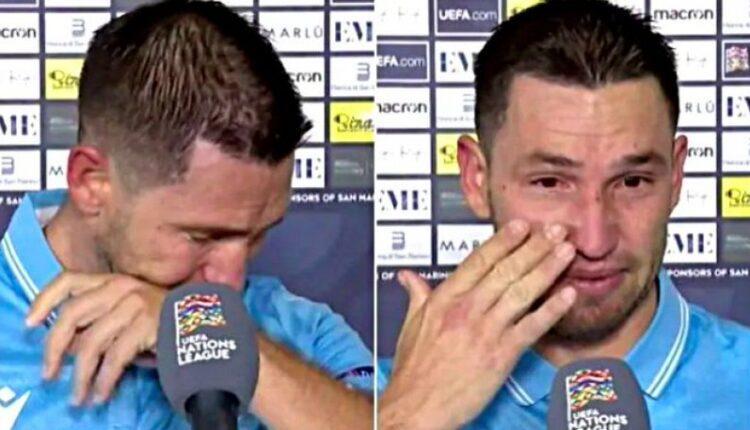 Σαν Μαρίνο: Δάκρυσε ο Ρόσι για τα δύο αήττητα ματς! (ΦΩΤΟ)