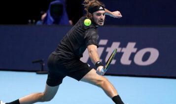 Τσιτσιπάς: Λύγισε με 2-1 από τον Τιμ στην πρεμιέρα του ATP Finals