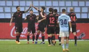 La Liga: Η Σοσιεδάδ κέρδισε (4-1) την Θέλτα και ανέβηκε στην κορυφή