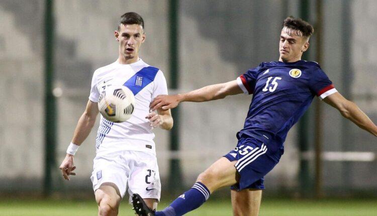 Εθνική Ελπίδων: Ο Χριστόπουλος έδωσε τη νίκη στην Ελλάδα, 1-0 την Σκωτία