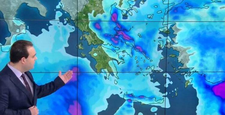 Καιρός: O «Ωμέγα Εμποδιστής» φέρνει τον χειμώνα -Βροχές, καταιγίδες, παγωνιά και τα πρώτα χιόνια