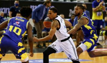 Basket League: Πρώτη νίκη για ΠΑΟΚ στο πρωτάθλημα, 83-65 το Λαύριο