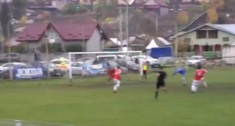 Μαγικό γκολ σε ματς 3ης κατηγορίας: Σκόραρε με το «χτύπημα του σκορπιού» (VIDEO)
