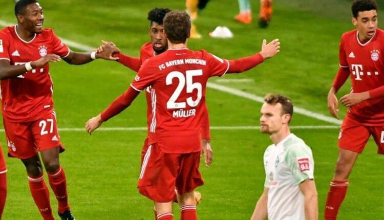 Bundesliga: Η Βέρντερ «φρέναρε» την Μπάγερν