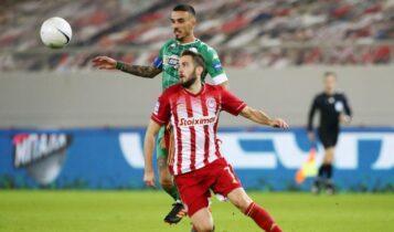 Super League: Πήρε το ντέρμπι ο Ολυμπιακός, 1-0 τον Παναθηναϊκό