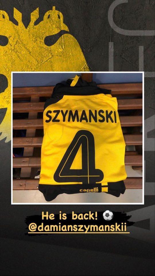 AEK: Ντεμπούτο για Σιμάνσκι και το... νέο του νούμερο (ΦΩΤΟ)