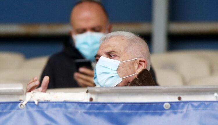 ΑΕΚ: Στις κερκίδες της Ριζούπολης ο Μελισσανίδης (ΦΩΤΟ)