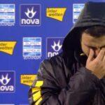 Συγκλονιστικός Γαλανόπουλος-Εβαλε τα κλάματα στον αέρα! (VIDEO)