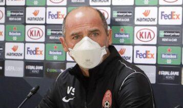 Σκρίπνικ: «Είναι μία ευκαιρία για τους παίκτες μας να δείξουν την αξία τους, πρόκληση ο αγώνας με την ΑΕΚ»