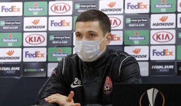 Χρόμοφ: «Παρά πολύ δυνατός αντίπαλος η ΑΕΚ, ελπίζουμε να παίξουμε καλύτερα αύριο»