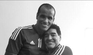 Ριβάλντο για Μαραντόνα: «Ηταν φαινόμενο στο γήπεδο, ένα από τα ποδοσφαιρικά μου είδωλα» (ΦΩΤΟ)