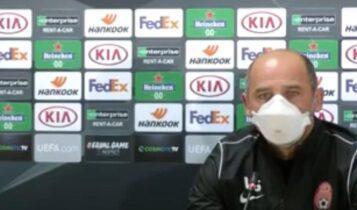 LIVE: Η συνέντευξη Τύπου της Ζόρια για το ματς με την ΑΕΚ (VIDEO)