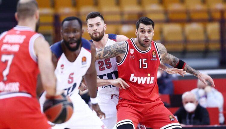 Euroleague: Ο Ολυμπιακός έχασε (76-90) από την Μπασκόνια στο ΣΕΦ