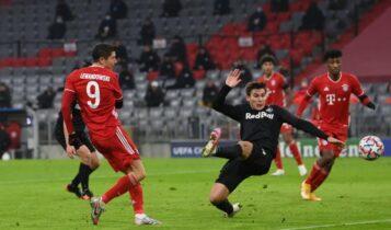 Λεβαντόφσκ: «Επιασε» τον Ραούλ στην 3η θέση των σκόρερ στο Champions League (ΦΩΤΟ)