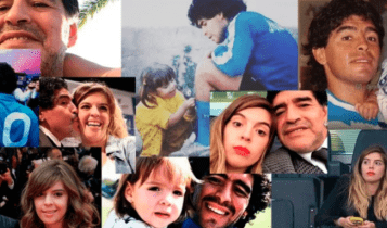 Μαραντόνα: Το σπαρακτικό αντίο της κόρης του Ντιέγκο