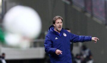 Μαρτίνς για το ματς με τον Αρη: «Ελπίζω οι διαιτητές να σταθούν στο ύψος των περιστάσεων»