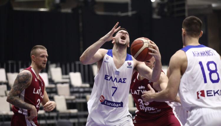 Εθνική Ελλάδας: Βαριά ήττα από Λετονία με 77-66