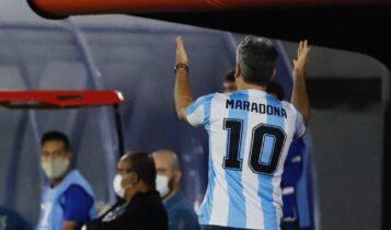 Βραζιλιάνος προπονητής φόρεσε φανέλα του Μαραντόνα σε ματς για το Κόπα Λιμπερταδόρες