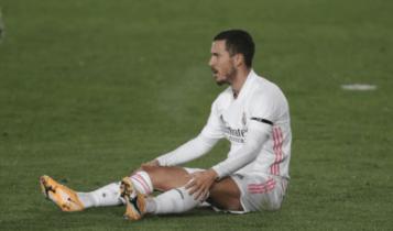 «Γυάλινος»: Τραυματίστηκε πάλι ο Εντέν Αζάρ!