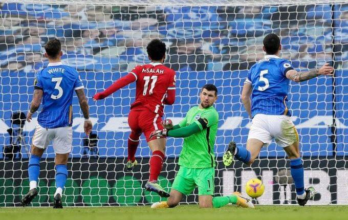 Premier League: Σόκαρε τη Λίβερπουλ στις καθυστερήσεις η Μπράιτον (1-1)
